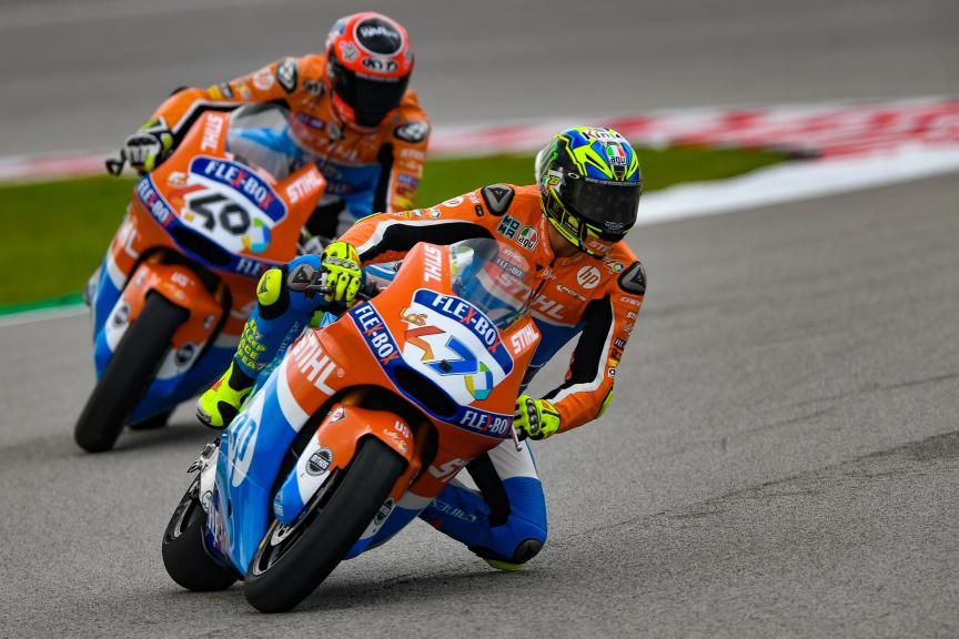 Lorenzo Baldassarri, Augusto Fernandez, Pons HP40, Shell Malaysia Motorcycle Grand Prix