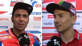 Descubre las claves de los mejores pilotos de MotoGP™ tras la jornada inaugural desde Malasia