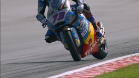 The opening Free Practice session for Moto2™ at the Sepang International Circuit