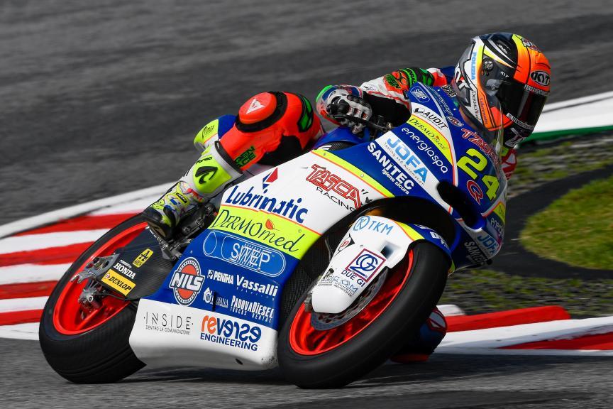Simone Corsi, Tasca Racing Scuderia Moto2, Shell Malaysia Motorcycle Grand Prix