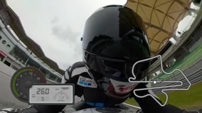 Un giro a Sepang con la camera GoPro™
