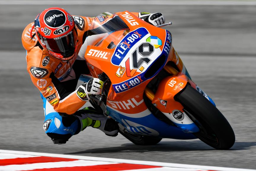 Augusto Fernandez, Pons HP40, Shell Malaysia Motorcycle Grand Prix