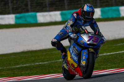 Marquez dominates Moto2™ Friday action in Malaysia