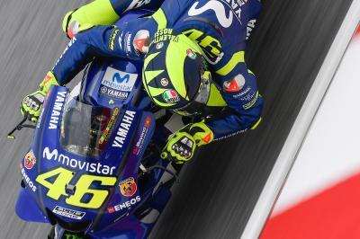 Rossi Interview: Zufrieden mit Platz vier