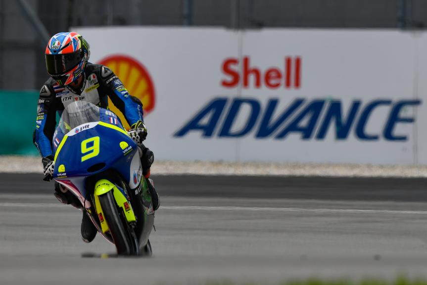 Apiwath Wongthananon, VR46 Master Camp Team, Shell Malaysia Motorcycle Grand Prix