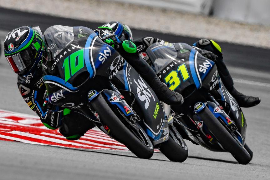 Dennis Foggia, Celestino Vietti, Sky Racing Team VR46, Shell Malaysia Motorcycle Grand Prix