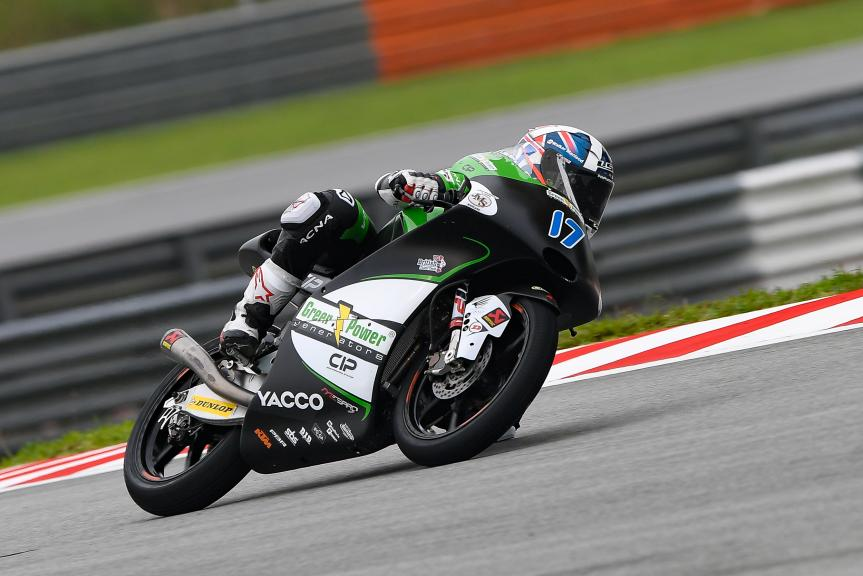 John Mcphee, CIP - Green Power, Shell Malaysia Motorcycle Grand Prix