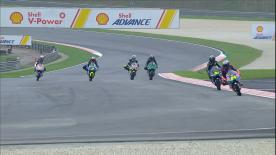 The third Free Practice session in full for the lightweight class at the Sepang International Circuit
