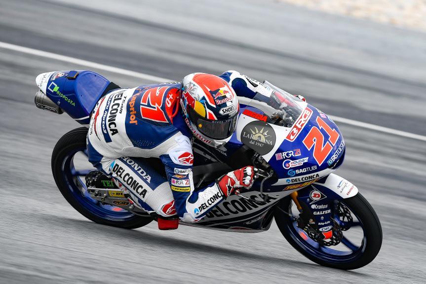 Fabio Di Giannantonio, Del Conca Gresini Moto3, Shell Malaysia Motorcycle Grand Prix
