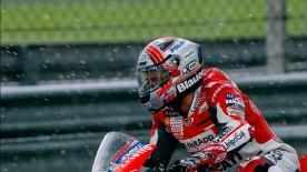 Disfruta, con todo lujo de detalle, de las mejores imágenes a cámara lenta de la qualifying del Sepang