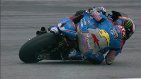 The EG 0,0 Marc VDS rider leads 2 days of 2 at Sepang, qualifying on pole ahead of Marini and Quartararo