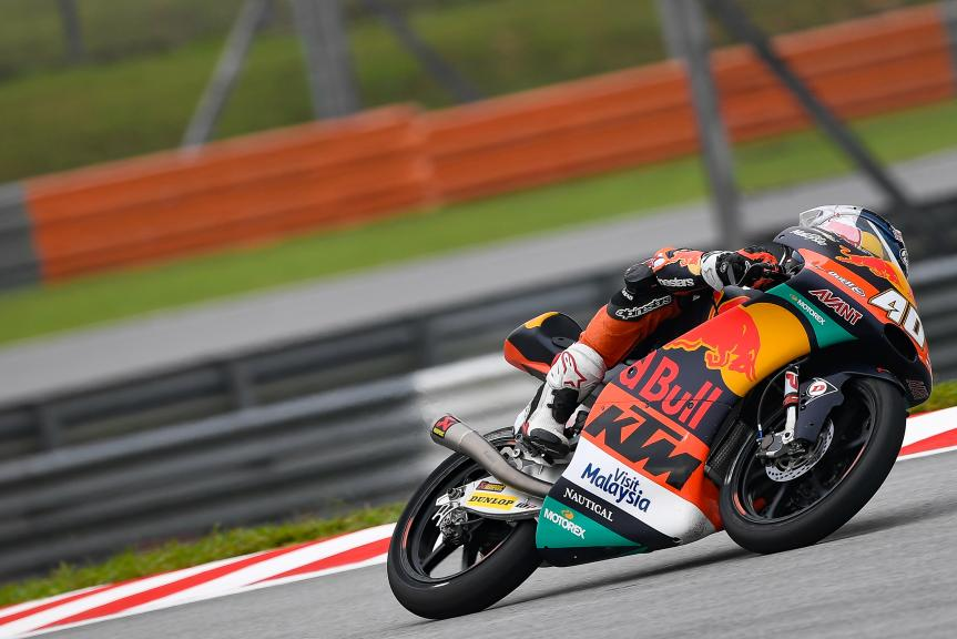 Darryn Binder, Red Bull KTM Ajo, Shell Malaysia Motorcycle Grand Prix