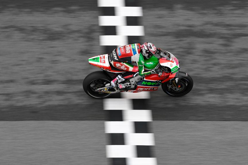 Aleix Espargaro, Aprilia Racing Team Gresini, Shell Malaysia Motorcycle Grand Prix