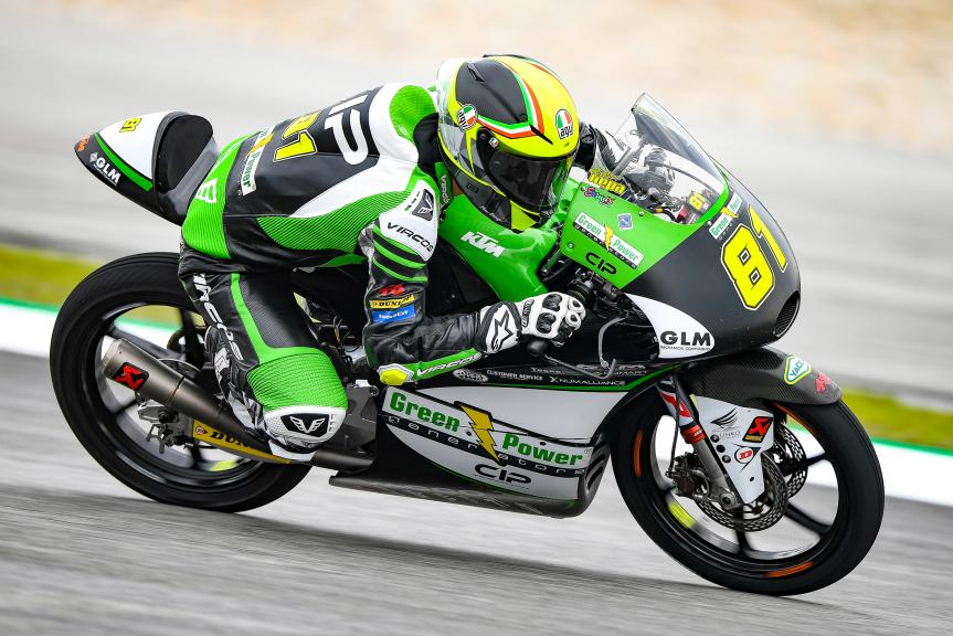 Stefano Nepa, CIP - Green Power, Shell Malaysia Motorcycle Grand Prix