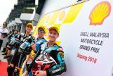 Alex Marquez, Luca Marini, Fabio Quartararo, Shell Malaysia Motorcycle Grand Prix