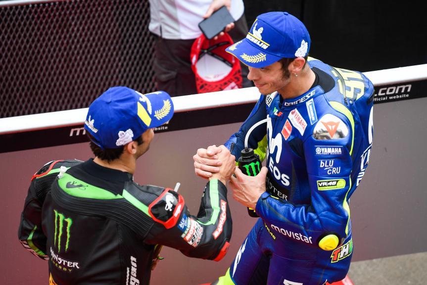 Johann Zarco, Monster Yamaha Tech 3, Valentino Rossi, Movistar Yamaha MotoGP, Shell Malaysia Motorcycle Grand Prix