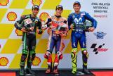 Marc Marquez, Johann Zarco, Valentino Rossi, Shell Malaysia Motorcycle Grand Prix
