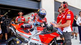 Hablamos con los pilotos de MotoGP™ en torno a sus impresiones antes de la carrera del domingo en el Sepang