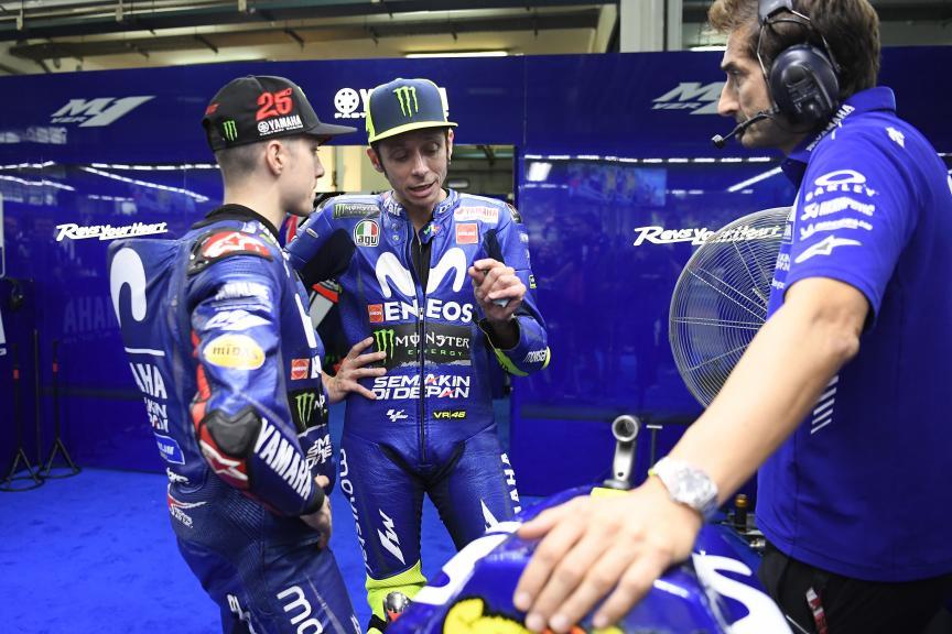 Maverick Viñales, Valentino Rossi, Movistar Yamaha MotoGP, Shell Malaysia Motorcycle Grand Prix