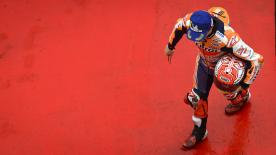 An incident with Iannone sees the Repsol Honda rider moved to P7, leaving Zarco to lead the grid in Malaysia alongside Rossi and Iannone