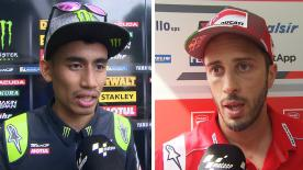 We catch up with the MotoGP™ riders to get their thoughts after the thrilling race at the Shell Malaysia Motorcycle Grand Prix