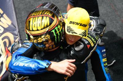 Vittoria e titolo, la Moto2™ è italiana