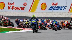 All the action from round 18 of the MotoGP? World Championship at the Sepang International Circuit