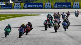 The full race session of the Moto3™ World Championship at the Shell Malaysia Motorcycle Grand Prix at the Sepang International Circuit