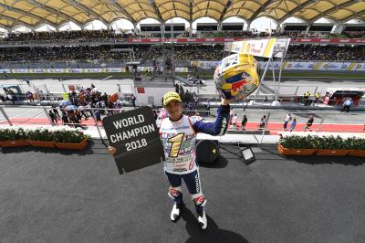 Martin crowned 2018 Moto3™ World Champion
