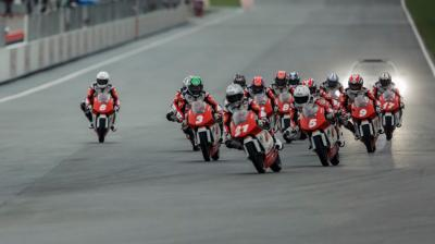 Rennen 2 des Idemitsu Asia Talent Cup in Sepang