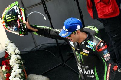 Zarco se reencuentra con el podio en Sepang