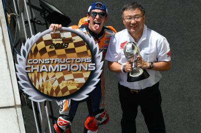 Honda, Champion du Monde constructeurs 2018