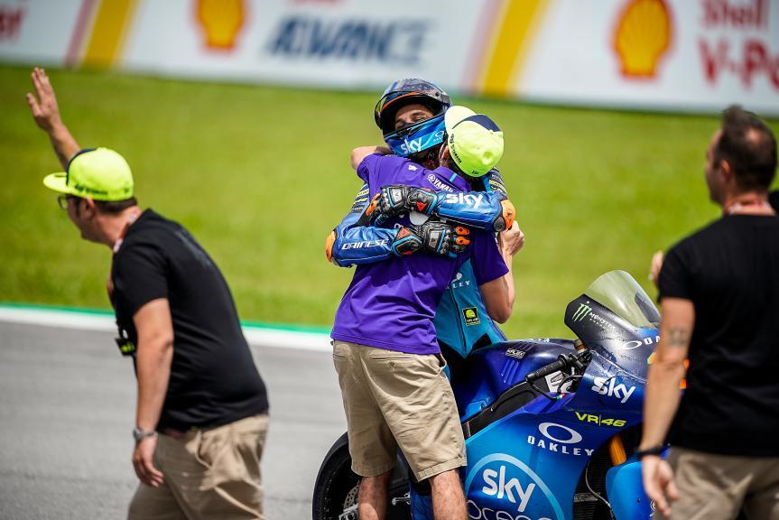 Luca Marini, Sky Racing Team VR46, Valentino Rossi, Movistar Yamaha MotoGP