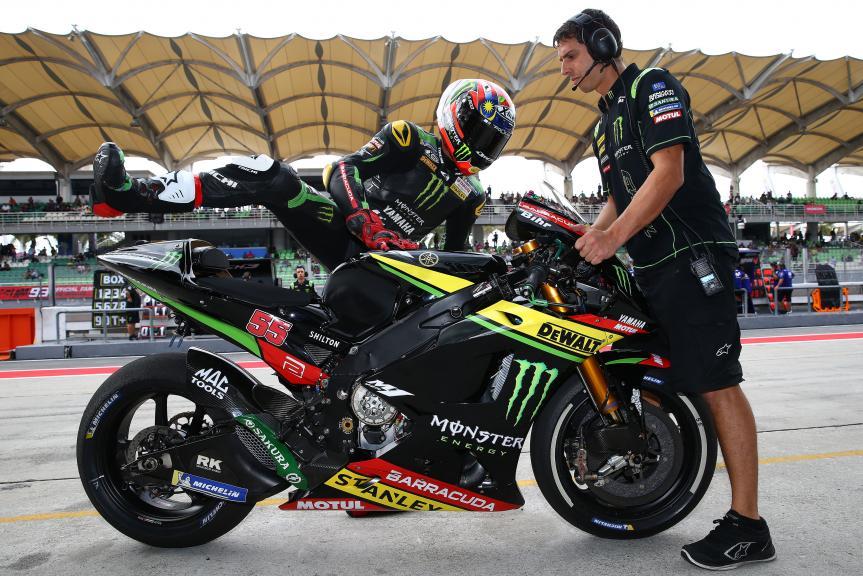 Hafizh Syahrin, Monster Yamaha Tech 3, Shell Malaysia Motorcycle Grand Prix