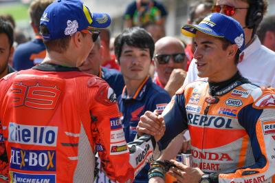 Marquez defends Lorenzo