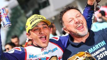 Jorge Martin, Del Conca Gresini Moto3, 2018 World Champion