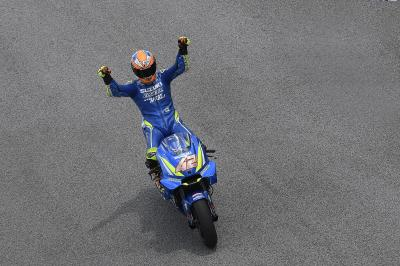 Alex Rins' best weekend of 2018