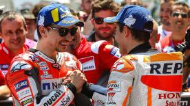 """No excuses in 2019 for the World Champion as he gets a new teammate and new """"first rival"""", with Jorge Lorenzo joining the Repsol Honda box"""