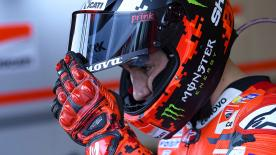 The MotoGP™ Legend looks forward to the 2019 rivalry in the Repsol Honda box