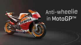 How do MotoGP™ teams tackle wheelie? Find out in this 3D video, all about anti-wheele