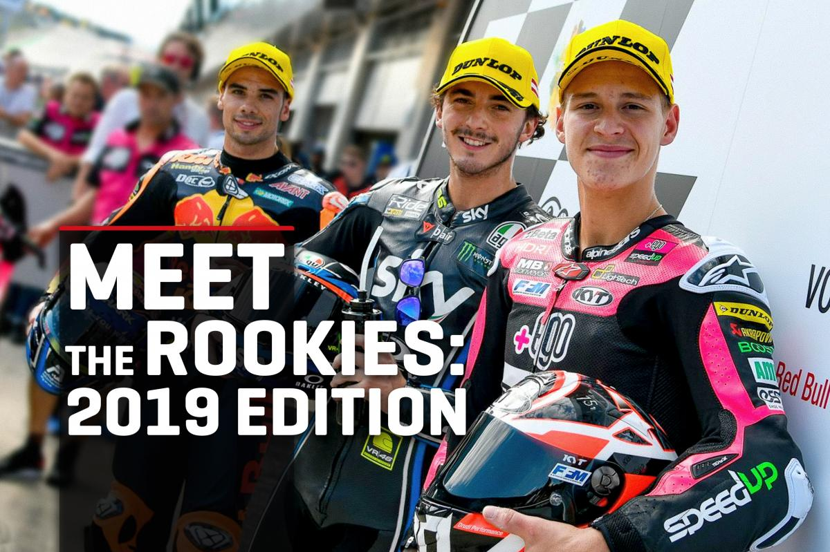 Meet the rookies: 2019 edition...