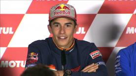 Marc Marquez reflects on his time in Repsol Honda with Dani Pedrosa and looks to 2019 with Jorge Lorenzo