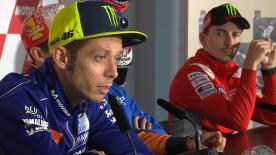The MotoGP™ veterans look to 2019 and talk about a rookie and the first Portugese rider to the class
