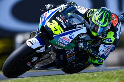 "Crutchlow: ""You're never 100% fit in this sport"""