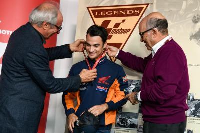 Dani Pedrosa becomes a MotoGP™ Legend