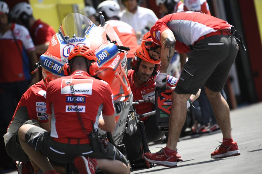 Mechanics, Ducati Team