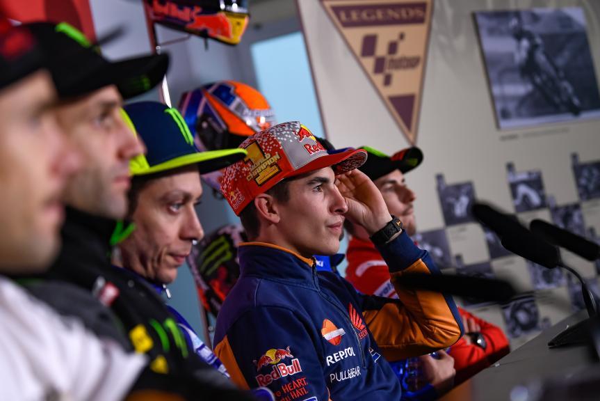 Press-Conference, Gran Premio Motul de la Comunitat Valenciana