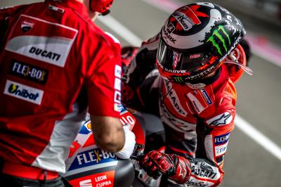 "Lorenzo: ""Great challenges motivate me"""