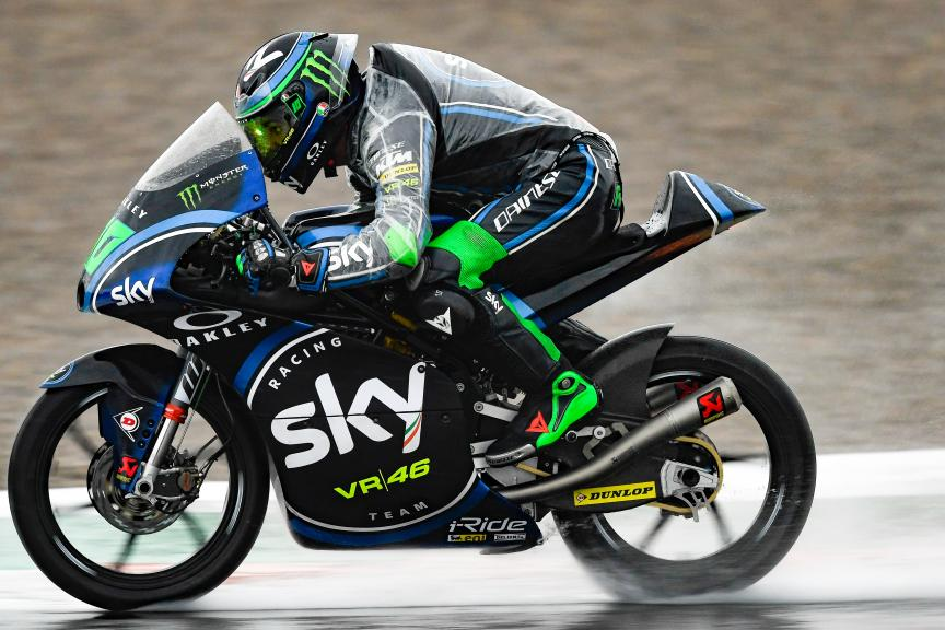 Dennis Foggia, Sky Racing Team VR46, Gran Premio Motul de la Comunitat Valenciana