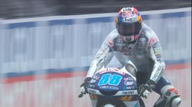 The second Free Practice session for the Moto3™ World Championship at the Circuit Ricardo Tormo
